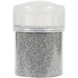 Jar colored sand 45g metallic - Silver n°3