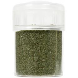 Jar colored sand 45g - Olive green n°8