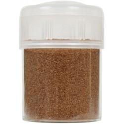 Jar colored sand 45g - Half brown n°19