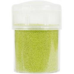 Jar colored sand 45g - Light green n°27