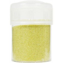 Jar colored sand 45g - Yellow n°33