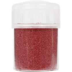 Jar colored sand 45g - Dark red n°42