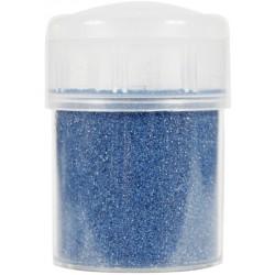 Jar colored sand 45g metallic - Blue n°43