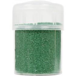 Jar colored sand 45g metallic - Green n°44