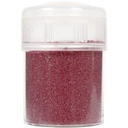 Jar colored sand 45g metallic - Red n°45