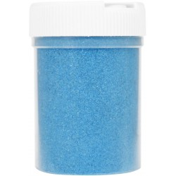 Jar colored sand 230g - Turquoise blue n°1