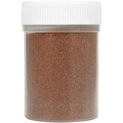 Jar colored sand 230g - Half brown n°19