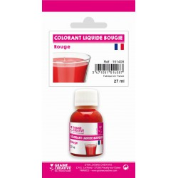 SKIN PACK OF  LIQUID COLOURING - 27 ML - RED