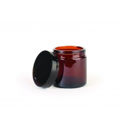 Cosmetic class jar with lid 60ml