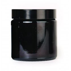 Cosmetic class jar with lid 120ml
