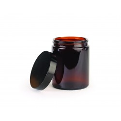 Cosmetic class jar with lid 180ml