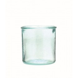 Pot from recycled glass 55mm x 45mm