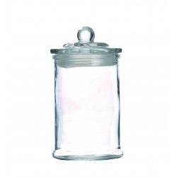 Glass canister Ø 100mm x 180mm
