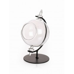 Sphere ball in glass for tealight Ø 80mm