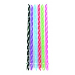 Plastic straws - Transparant (6 pcs)