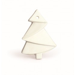 1 CHRISTMAS ORIGAMI FIR TREE PLASTER CAST