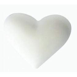 1 SMALL HEART PLASTER CAST