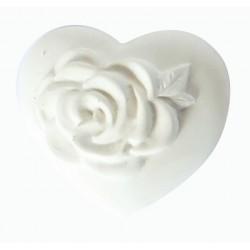 1  ROSE HEART PLASTER CAST