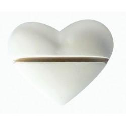 1 HOLDER NAME HEART PLASTER CAST