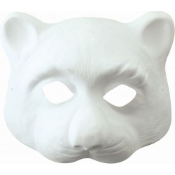 1 HALF-FACED CAT MASK