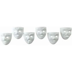 1 x 6 CHILDREN THIN MASK (assortment of 5*6 designs)