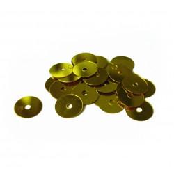 Sequins 6mm 30g - Gold