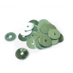 Sequins 6mm 30g - Silver