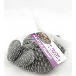 Grey pebbles Ø 30mm - 50mm (5 pcs)