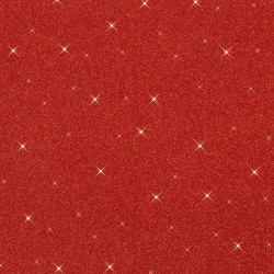 1 RED GLITTER RUBBER SHEET 20*29 WITHOUT FORMAMIDE
