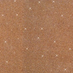 1 BRONZE GLITTER RUBBER SHEET 20*29 WITHOUT FORMAMIDE