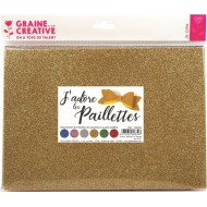 Rubber vellen - Glitter forever (6 st)