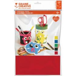 Rubber sheets - Bright colors (6 pcs)