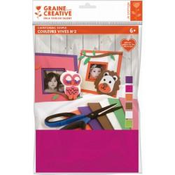 Rubber sheets - Bright colors 2 (6 pcs)