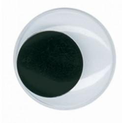 Wiggle eyes 22mm (2 pcs)
