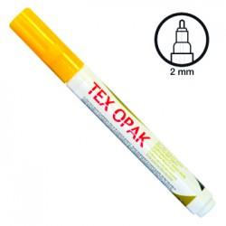 Felt pen for fabric - Matt yellow