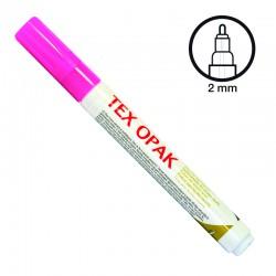 Felt pen for fabric - Matt pink