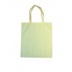 Cotton shopping bag 375mm x 420mm x 12mm - White