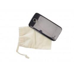 Cotton phone bag 110mm x 145mm x 5mm