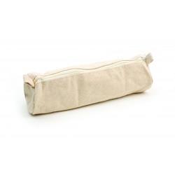 Cotton pencil case 225mm x 70mm x 40mm