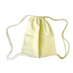 Cotton backpack 260mm x 310mm x 38mm