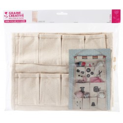 Stowage 13 compartments in cotton 295mm x 620mm x 15mm