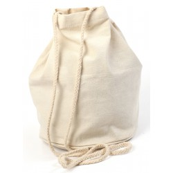 Bucket bag in cotton Ø165mm x 230mm