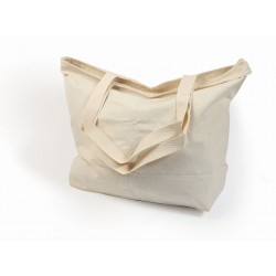 Carrier bag in cotton 440mm x 305mm x 135mm
