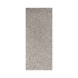 Thermo-Adhesive fabric 150mm x 200mm - Glitter silver