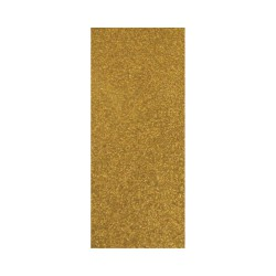 Thermo-Adhesive fabric 150mm x 200mm - Glitter gold