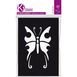 BUTTERFLY ADHESIVE TRANSFER