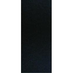 THERMO-ADHESIV VELVET FABRIC - BLACK