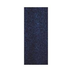 Thermo-Adhesive fabric 150mm x 200mm - Glitter marine blue