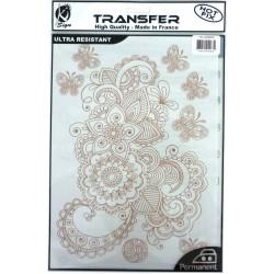 Transfer Hot Fix A4 copper - Arabic