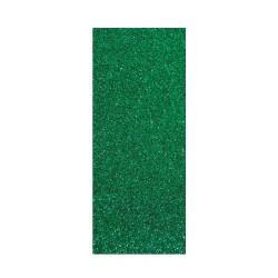 Thermo-Adhesive fabric 150mm x 200mm - Glitter green emrald